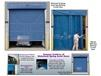 SPRING ASSIST BUG BLOCKING SCREENED MESH CURTAIN DOORS