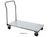 STAINLESS STEEL PLATFORM TRUCKS WITH REMOVABLE HANDLE