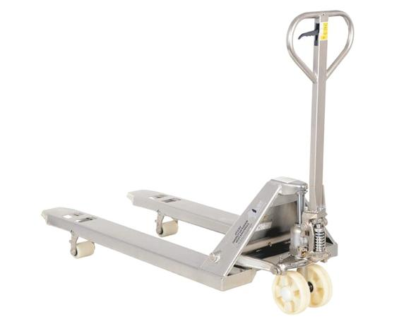 STAINLESS STEEL (TYPE 304) PALLET TRUCKS