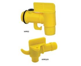 PLASTIC DRUM FAUCET WITH PAIL HOOK