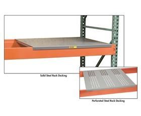 STEEL RACK DECKING